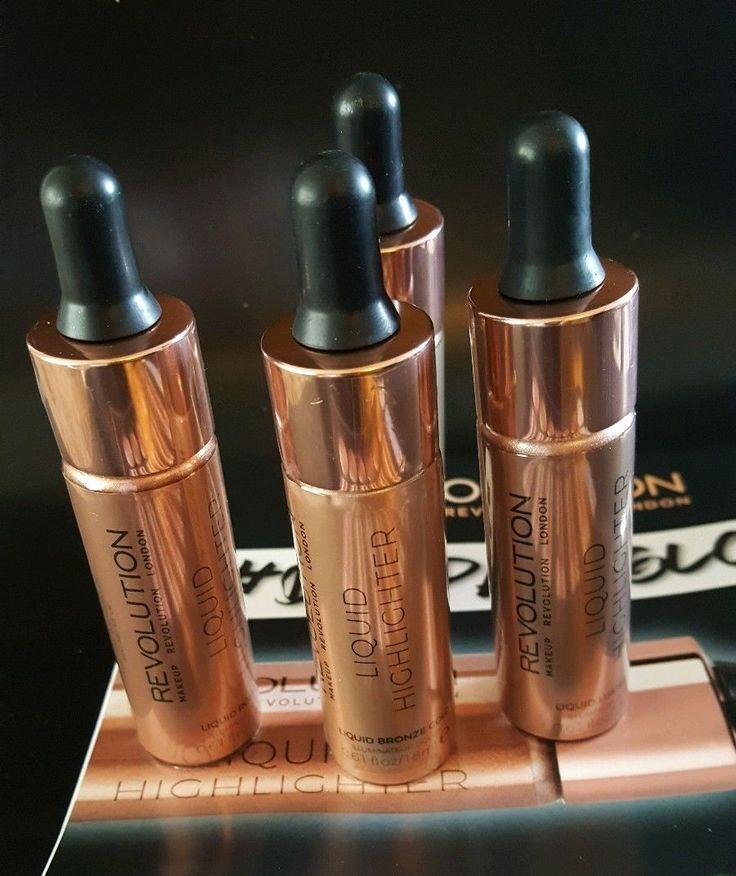 Makeup Revolution Liquid Highlighter Highlight Unicorn Elixir Fx Rose Gold