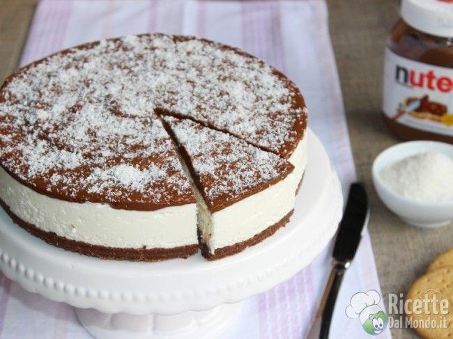 Ricetta per Cheesecake Cocco e Nutella