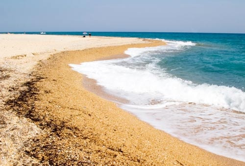Kefalonia, Greece, Skala beach