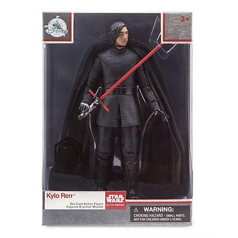 Kylo Ren Unmasked Elite Series Die-Cast Action Figure, Star Wars: The Last Jedi