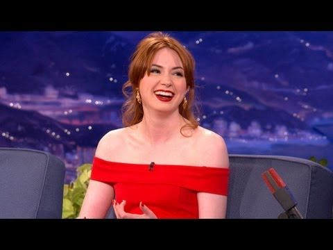 ▶ Karen Gillan Interview 9/27/2012 - CONAN Almost spat my milk out 2:13 /2:18 @Sarah Fast