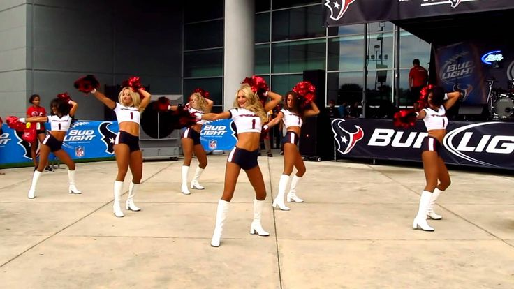 Houston Texans Cheerleaders -- wildones