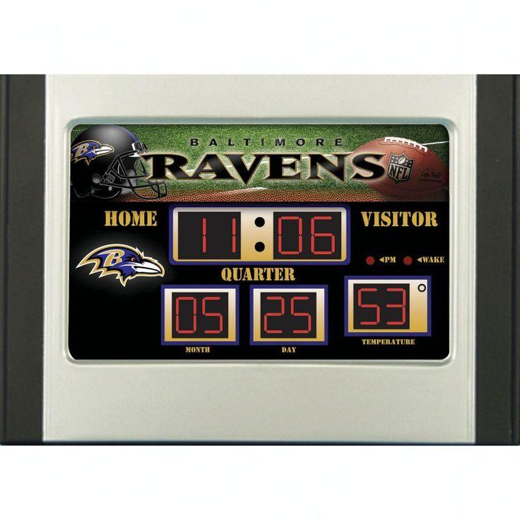 Team Sports America NFL Scoreboard Desk Clock - 01288