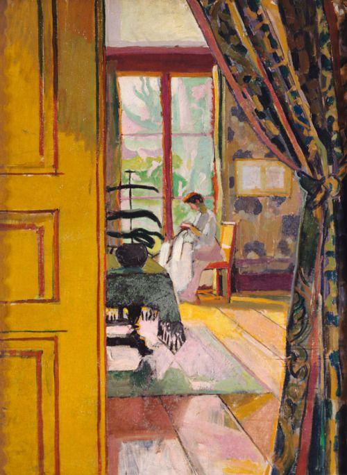 Sewing Woman - Paul Henri Marinot 1904French 1882 1960