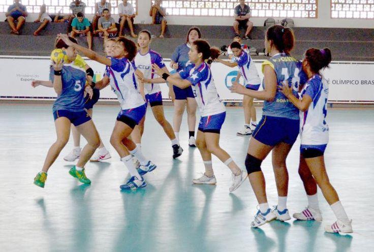Handebol feminino do Maranhão vence nas Olimpíadas Escolares