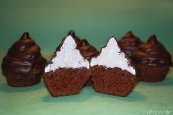 » Hi hat cupcakes - Ricetta Hi hat cupcakes di Misya