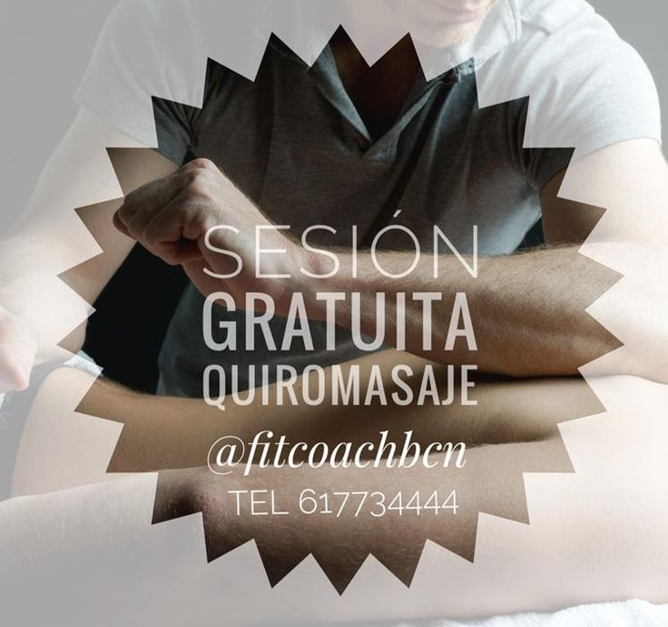 SESION GRATUITA DE QUIROMASAJE DESCONTRACTURANTE
