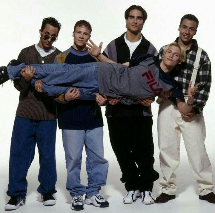 the guys of backstreet boys in 1999