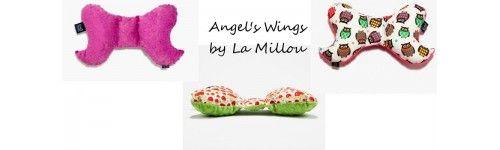 Podgłówki, Poduszki Angel's Wings La Millou dla Niemowlaków – Poduszeczki, Skrzydełka Anioła, do Fotelików Samochodowych, bujanych wózeczków, przewijaczka czy łóżeczka