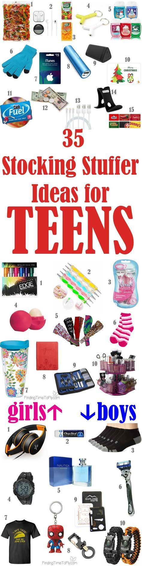 Saving this list of Stocking Stuffer Ideas for Teenagers. What a great list for teens!