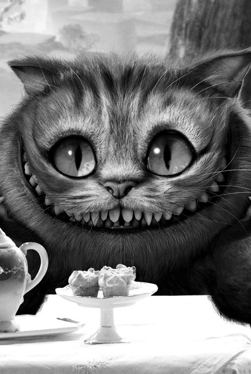 The Cheshire Cat - 'Alice in Wonderland', 2010. Voice-over by Stephen Fry.