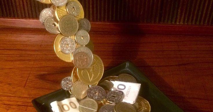 OG SJOVT KORT.....                                           Svævende pengegave.         Jeg har lige være...