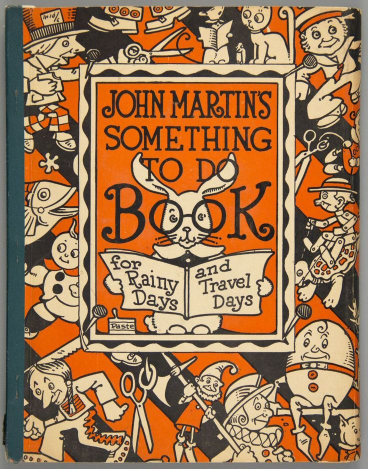 97.16812: John Martins Something To Do Book | activity book | Creativity Toys | Toys | National Museum of Play Online Collections | The Strong