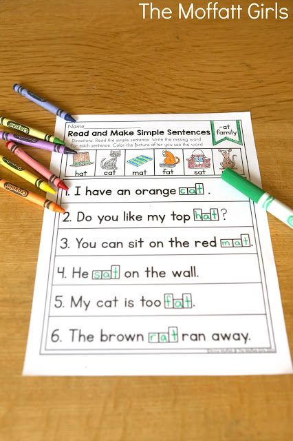 how to make simple sentence