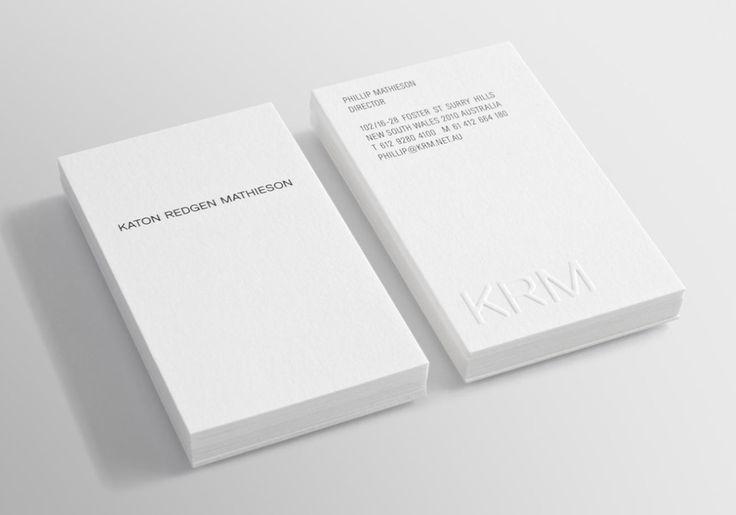 Branding for Katon Redgen Mathieson by Australinangraphic designer Three60.