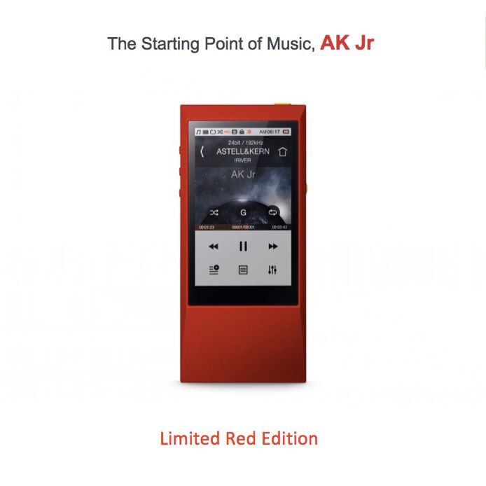 #AstellnKern #AKJr #DAP #MQS #HiResAudio #Limited #Red
