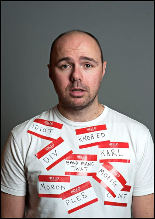 The many names that are, Karl Pilkington