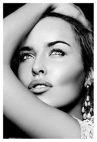 Super Les 25 meilleures idées de la catégorie Portrait noir et blanc sur  ES69
