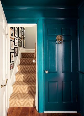 Decorating with color | teal   gold