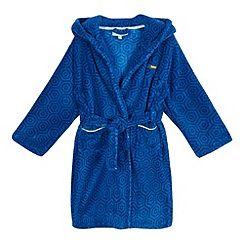 Baker by Ted Baker - Boys' blue geometric dressing gown