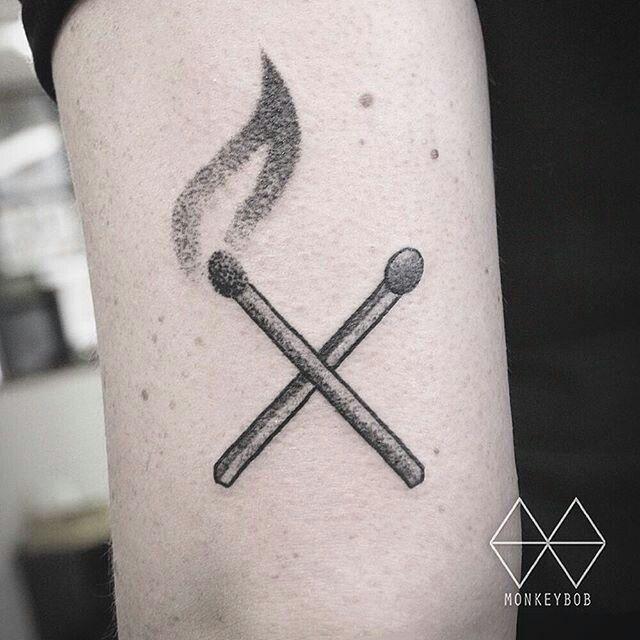 12 best tattoo images on pinterest small tattoos tatoos for Fahrenheit 451 tattoo