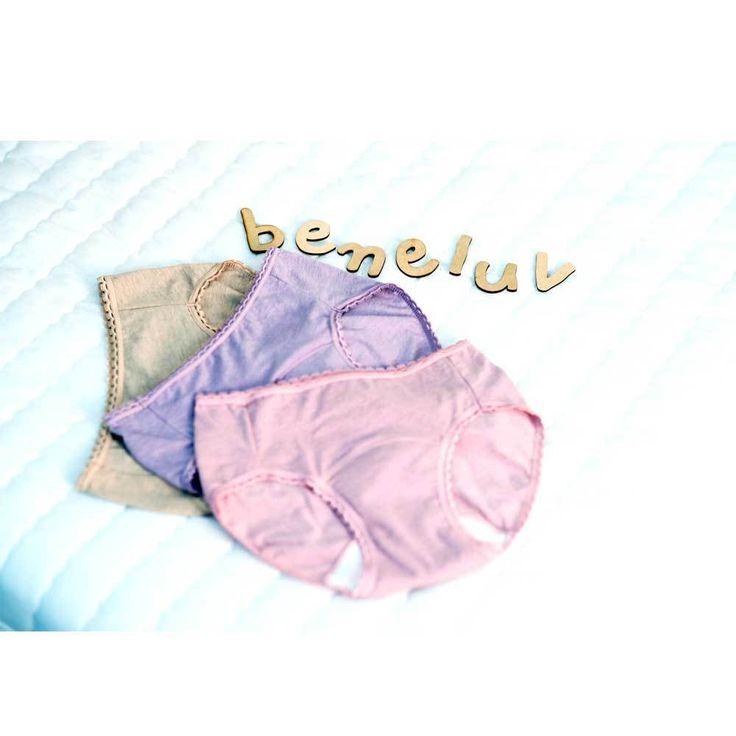 Beneluv Festa (YW300) Light Orange / Pink / Purple #Beneluv #IncontinenceUnderwear