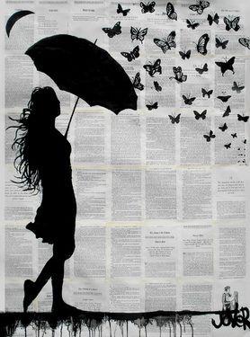 """Loui Jover, """"Butterfly Rain"""""""