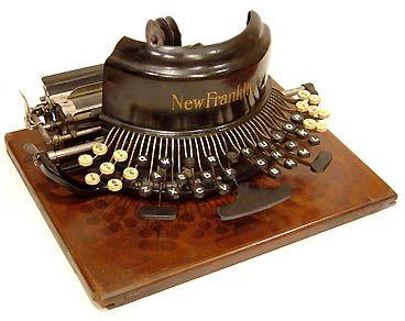 Antique Typewriter Restoration
