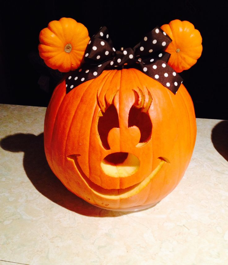 Best ideas about minnie mouse pumpkin on pinterest
