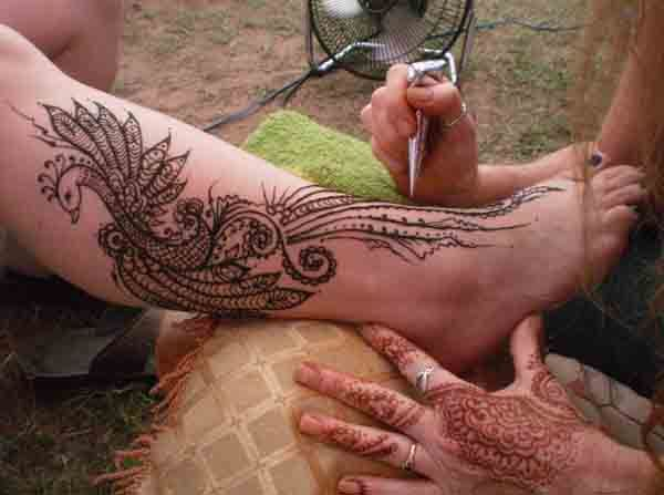 Mehndi Peacock Tattoos : Best henna mehndi images sketches tattoo ideas