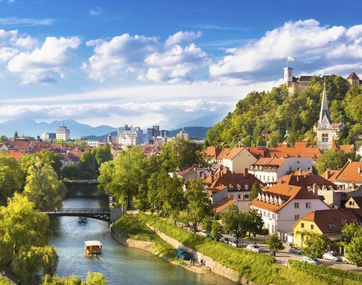 Η γραφική πόλη Λιουμπλιάνα της Σλοβενίας