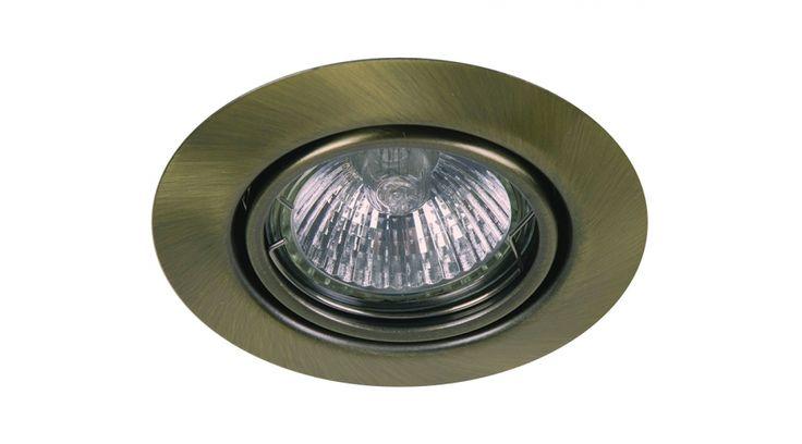 Billenthető, álmennyezetbe süllyesztethető lámpa, amely hálózatról, trafó nélkül üzemeltethető. Kivágási átmérõje 74 mm. A csomagolás meleg fényû halogén izzót tartalmaz, mi LED fényforrást ajánlunk