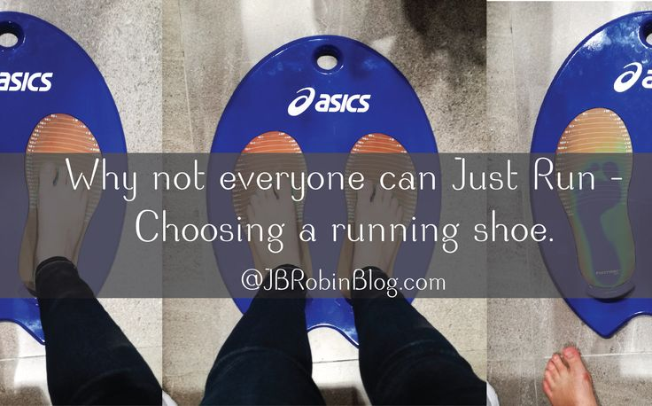 New Blog Post: Why not everyone can Just Run – Choosing a running shoe. I went to the ASICS Store in Mall of Africa here in Guauteng. They do a motion ID analysis in store, for free, and a session takes about 20 Min.  http://jbrobinblog.com/2017/03/06/choosing-a-running-shoe/ jb