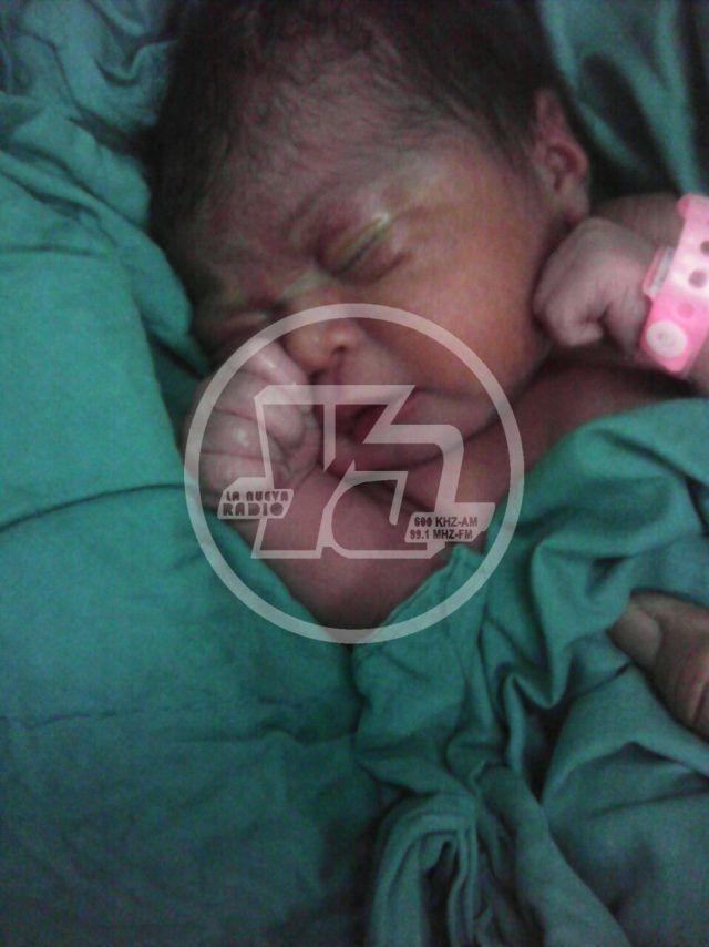 Primer bebé nicaragüense de 2017 nació en El Tuma-La Dalia, Matagalpa