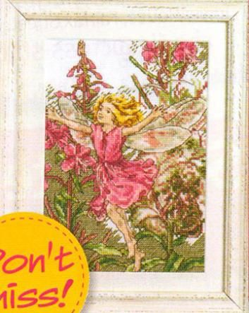 Flower Fairies Rose-Bay Willow Herb Fairy Cross Stitch Crazy Issue 148 March 2011 Hardcopy
