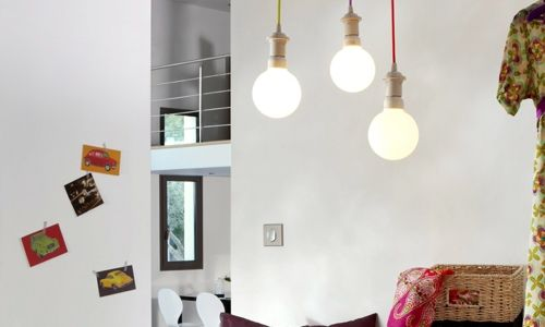 eclairage salon plafond cathedrale  Recherche Google  Salon