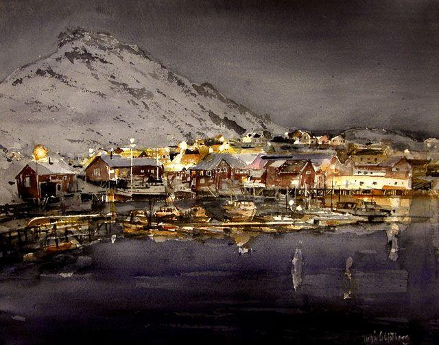 Torgeir Schjølberg (Норвегия) Акварель: vehvepznbyf