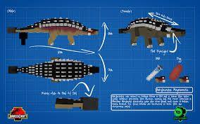 Jurassic Craft Ankylossauro