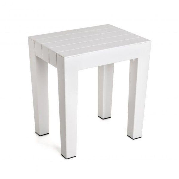 Banqueta baño Tatay color blanco #accesoriosbano