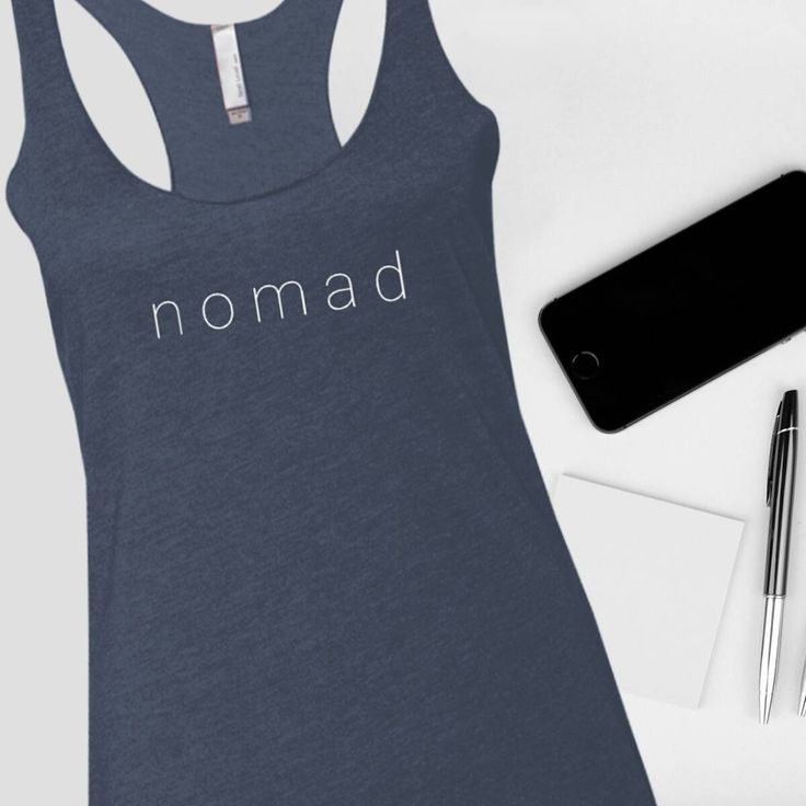 Nomad life ❤ #newarrival . Shop the link in the bio --> @munkberryofficial . Product: Nomad Racerback Tank