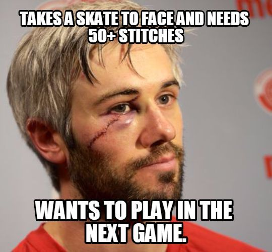 Typical hockey player