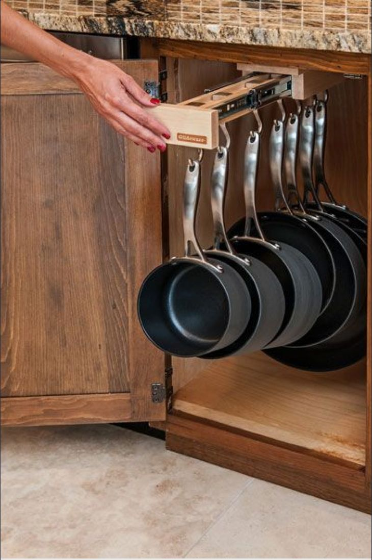 Фото из статьи: Хранение на кухне: 7 идей и 35 примеров для вашей посуды
