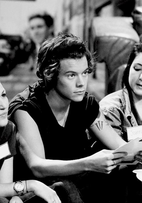 Harry Styles- What I would give to be one of the girls sitting next to him