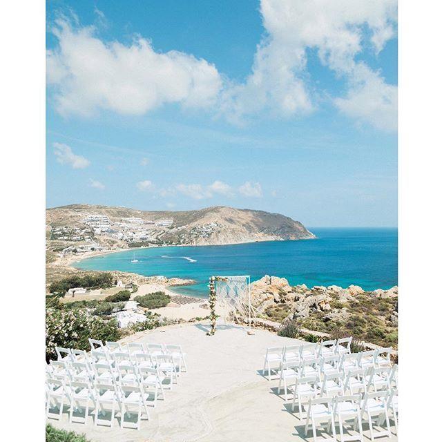 Mykonos you might be windy but we love you anyway // 💙 Photo @sandyandodysseas | Flowers & macrame design by us . . . #mykonosisland #mykonoswedding #destinationwedding #weddingingreece #greekislandweddings #visitgreece #weddingceremony #santoriniglamweddings