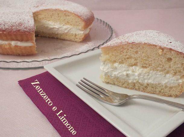 TORTA allo YOGURT FARCITA | Zenzero e Limone