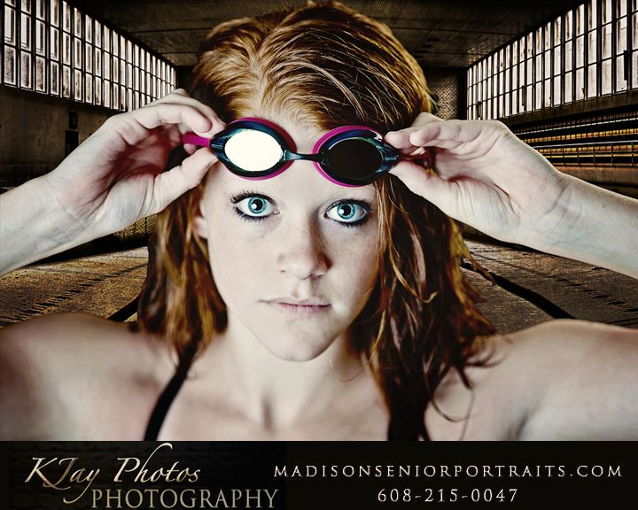 Swimming Senior Pictures   K Jay Photography in Madison! Fun and Creative Senior Pictures!