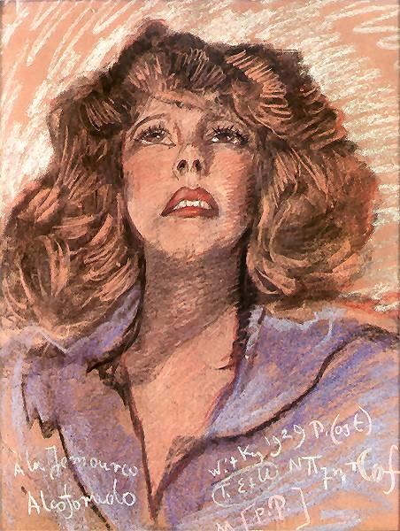 Portrait of a woman 1929 Stanislaw Ignacy Witkiewicz