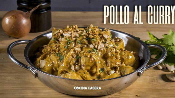 Pollo al Curry - Recetas de Cocina Casera - Recetas fáciles y sencillas