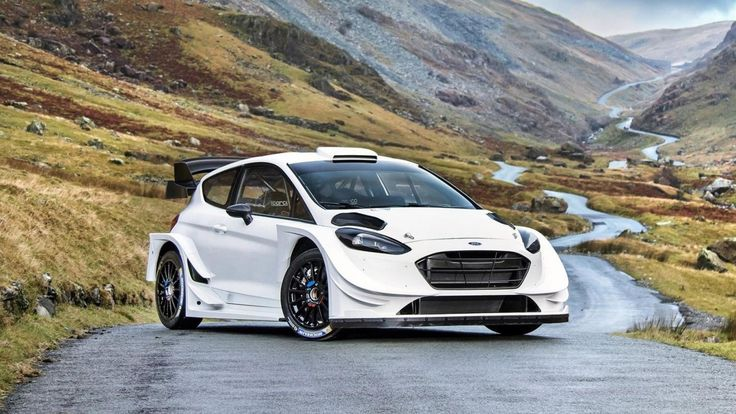 M-Sport have released the first images of their brand new Ford Fiesta WRC. It looks utterly bonkers and the current world champion has been driving it.