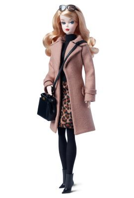 Classic Camel Coat Barbie® Doll | The Barbie Collection | second Silkstone with articulation